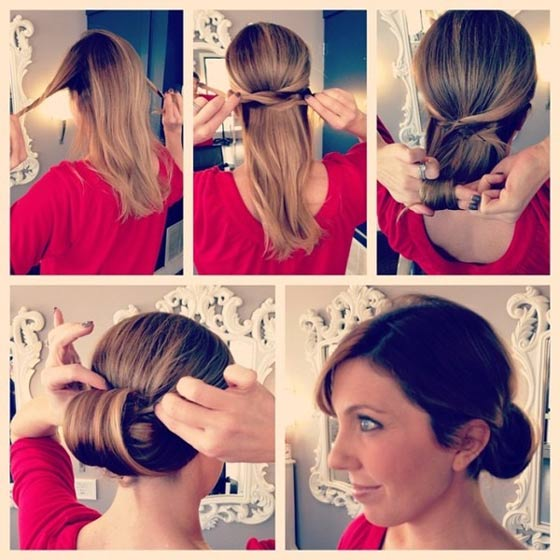 Sleek-Chignon-Bun
