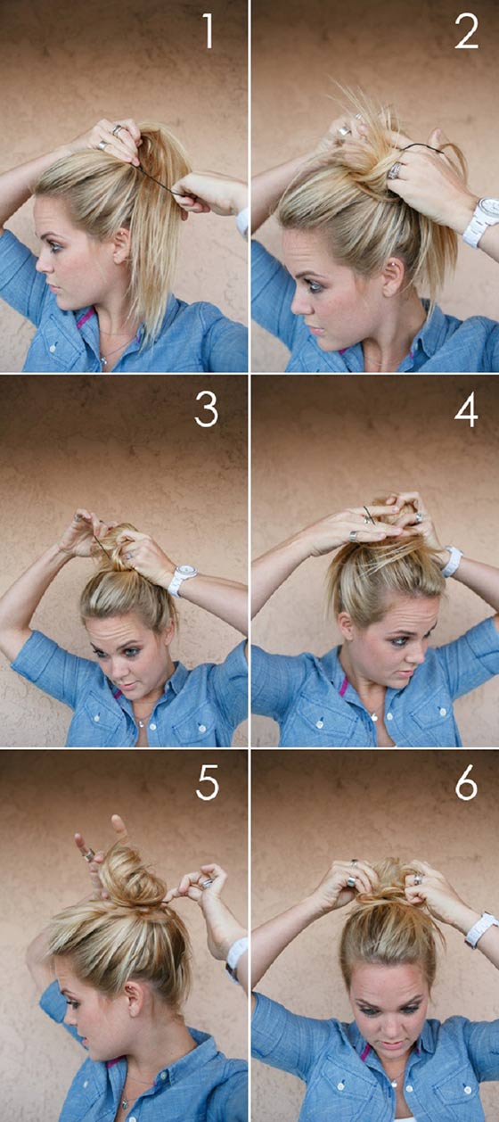 The-Super-Fast-Messy-Bun