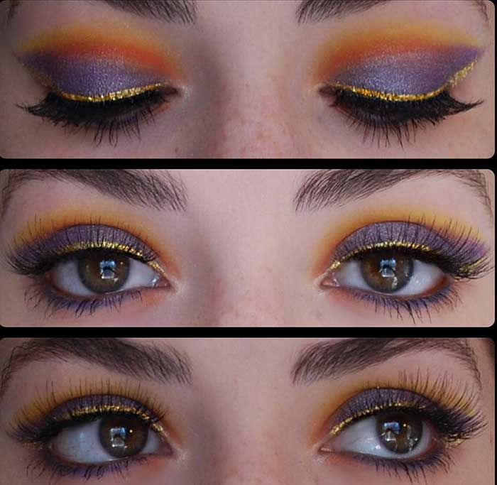 Tropical Sunsets Look - Make Your Hazel Eyes Pop