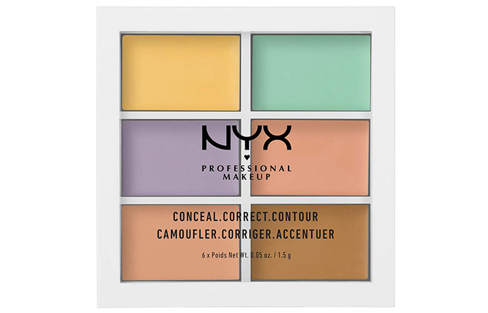 NYX Color Correcting Concealer палитра