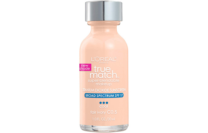 1. L'Oreal True Match Super Blendable Makeup