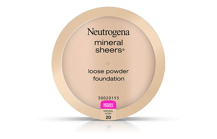 10. Neutrogena Mineral Sheers Loose Powder Foundation