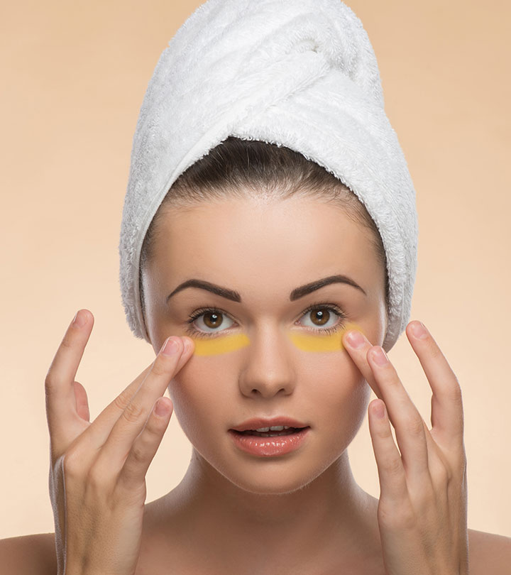Try Applying Turmeric Paste Around Your Eyes. The Results Are Impressive!