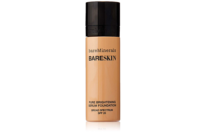 13. BareMinerals Bare Skin Pure Brightening Serum Foundation