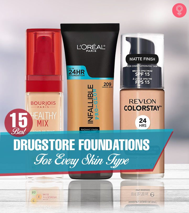 15 Best Drugstore Foundations For Every Skin Type
