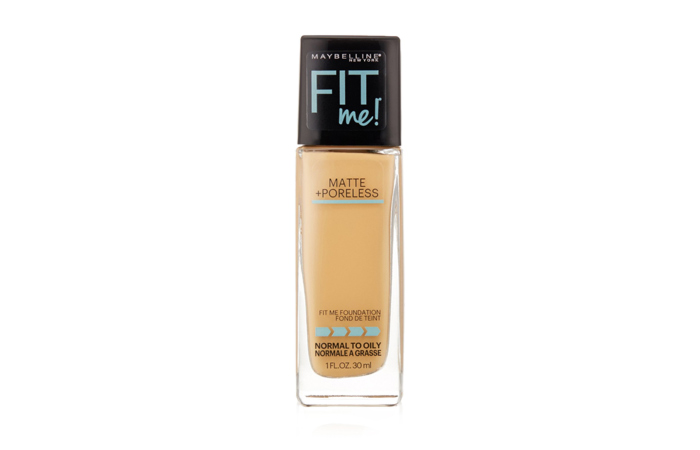 Best Drugstore Foundations - Maybelline Fit Me! Matte+Poreless Foundation - Best Drugstore Foundation at Low Price