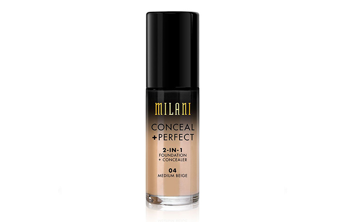 3. Milani Conceal + Perfect 2-In-1 Foundation + Concealer