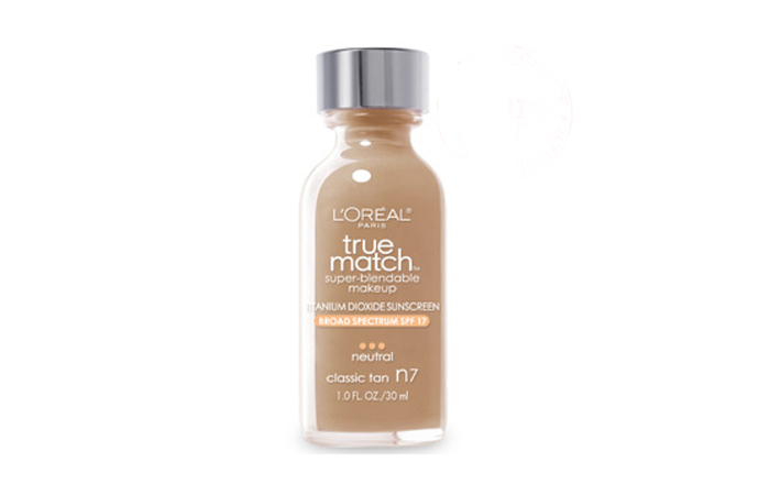 L'Oreal True Match Super Blendable Makeup - Best Drugstore Foundation for All Skin Types