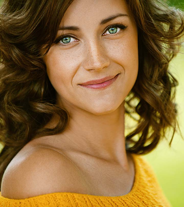 Best Hair Color For Green Eyes With Different Skin Tones