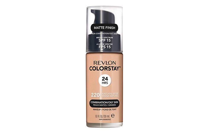 4. Revlon ColorStay Liquid Foundation