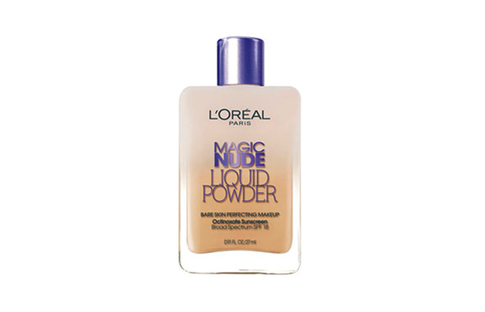 Best Drugstore Foundations - L'Oréal Paris Magic Nude Liquid Powder Bare Skin Perfecting Makeup SPF 18 - For Normal Skin