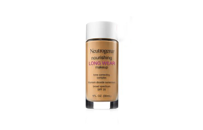 Best Drugstore Foundations - Neutrogena Nourishing Long Wear Makeup - Best Drugstore Foundation for All Skin Types