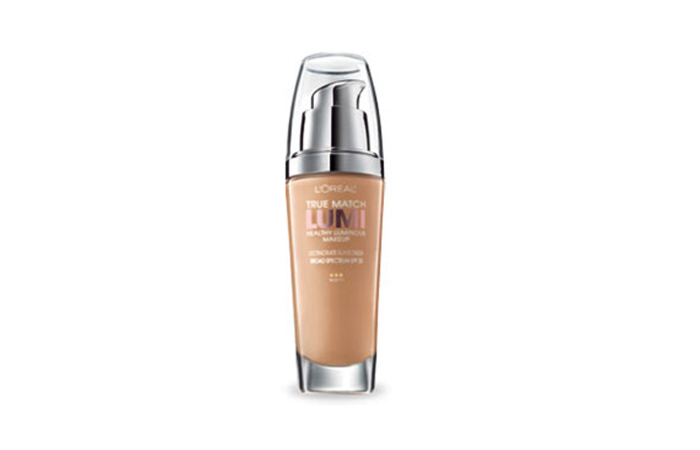 Best Drugstore Foundations - L'Oreal True Match Lumi Healthy Luminous Makeup - Good Drugstore Foundation