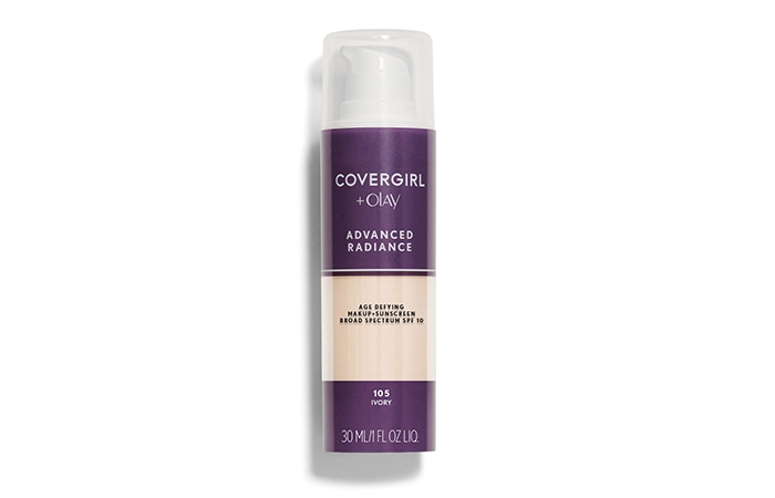 9. Covergirl Advanced Radiance Age Defying Foundation