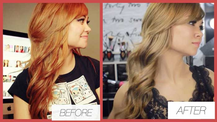 How To Fix Orange Hair Blonde Pinit