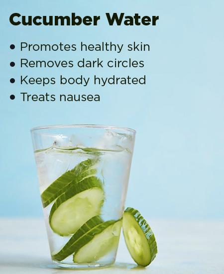 5. Cucumber Water