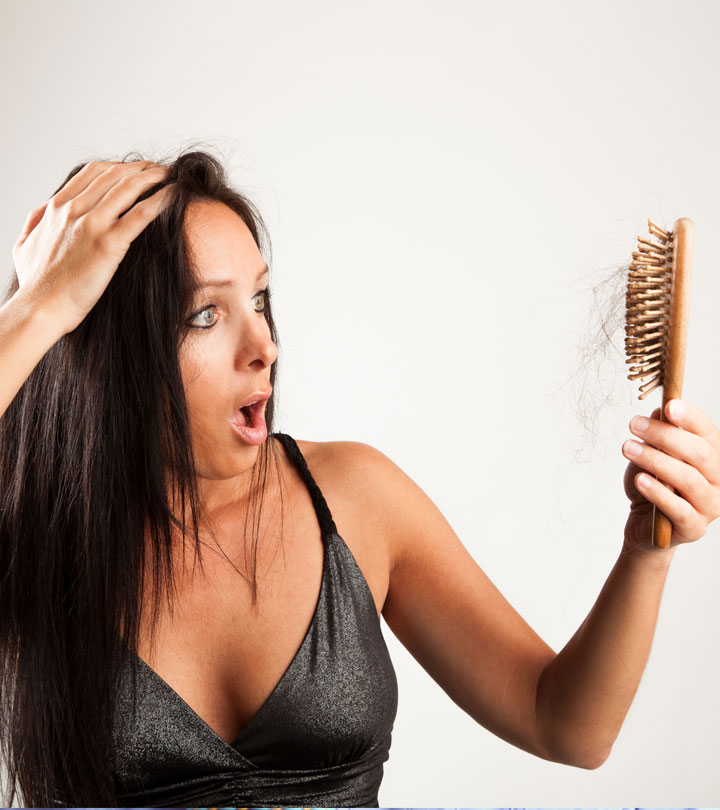 One Simple Trick To Prevent Hair From Sticking To Your Brush