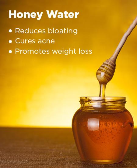 7. Honey Water