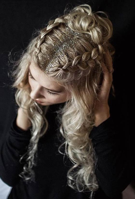 13.-Glittery-Dutch-Braids