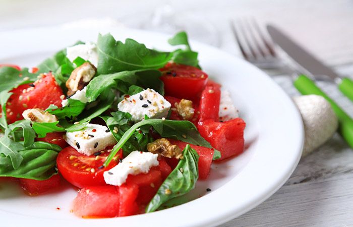 Spinach,-Tomato,-And-Feta-Salad