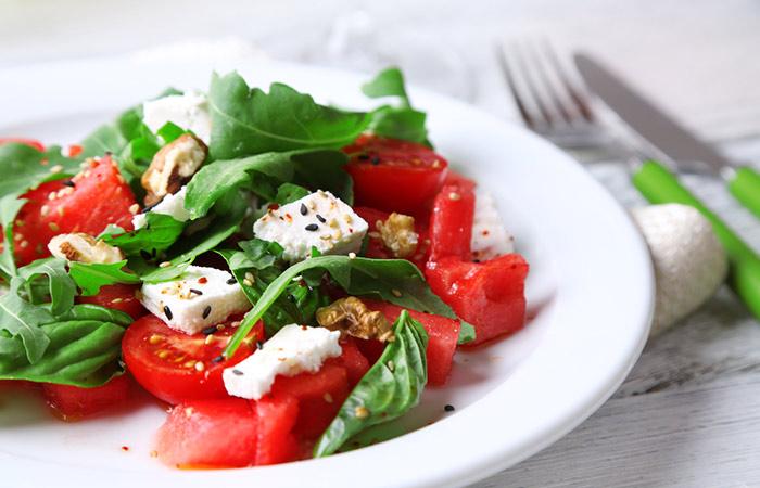 Spinach,-Tomato,-And-Feta-Salad