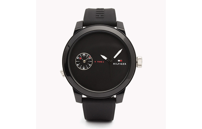 Tommy Hilfiger Watches For Women - 1. Black Dual Faced Watch