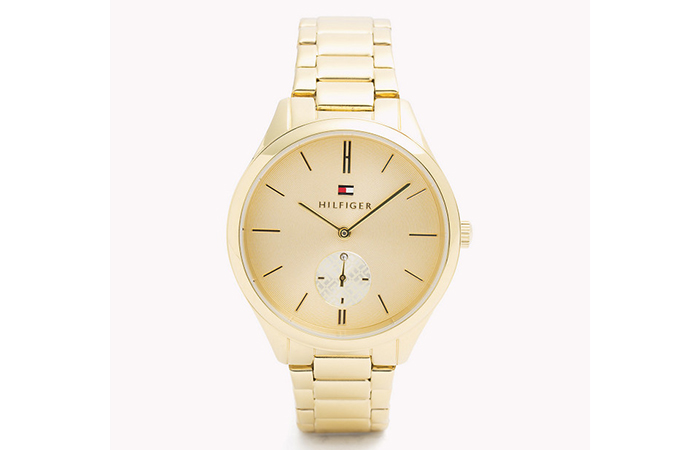 Tommy Hilfiger Watches For Women - 10. Minimalist Gold Watch