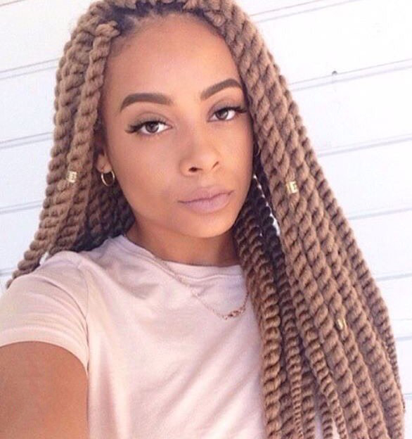 Blonde Rope Twisted Braids