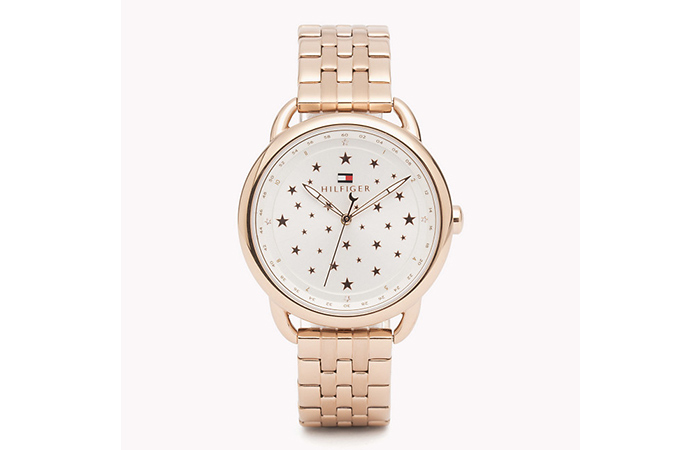 Tommy Hilfiger Watches For Women - 2. Star-Faced Rose Gold Watch