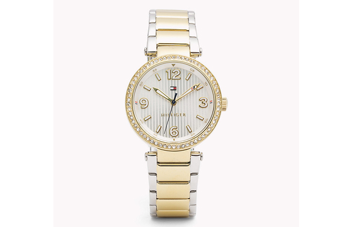 Tommy Hilfiger Watches For Women - 20. Two-Toned Metal Watch