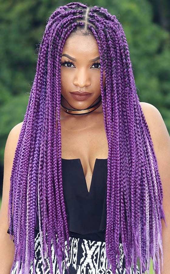 Super 40 Awe Inspiring Ways To Style Your Crochet Braids Short Hairstyles For Black Women Fulllsitofus