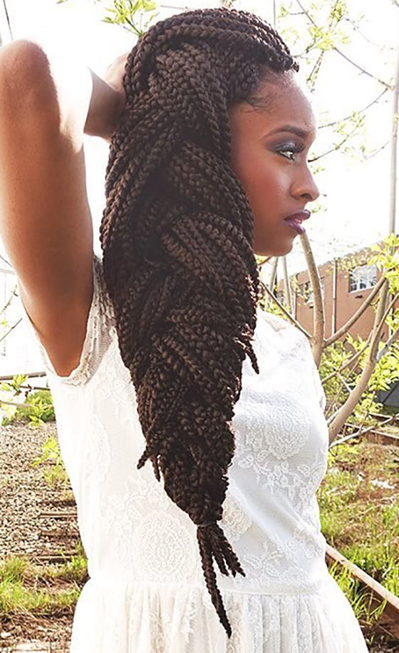 40 Awe-Inspiring Ways To Style Your Crochet Braids