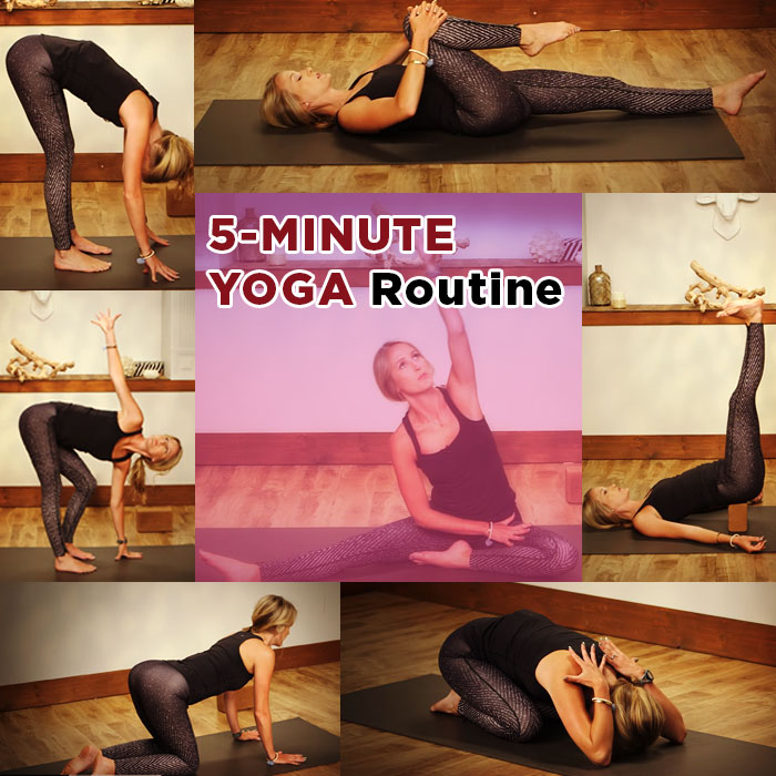 5-Minute Yoga Routine for a Good Night's Sleep