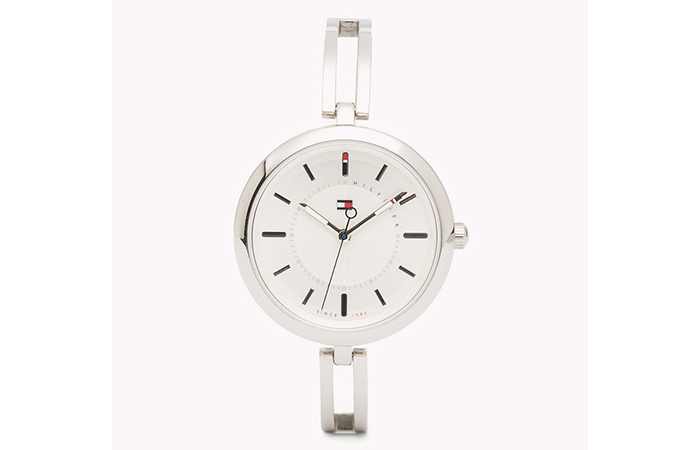 Tommy Hilfiger Watches For Women - 5. Silver Bangle Strap Watch
