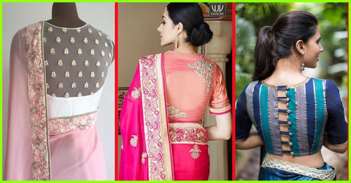 c34a062f28ebd6 50 Latest Saree Blouse Designs For 2019 That Will Amaze You
