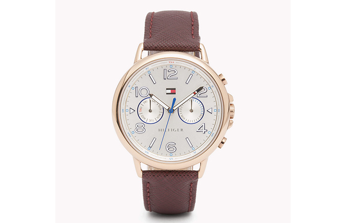 Tommy Hilfiger Watches For Women - 6. Brown Leather Strap Watch