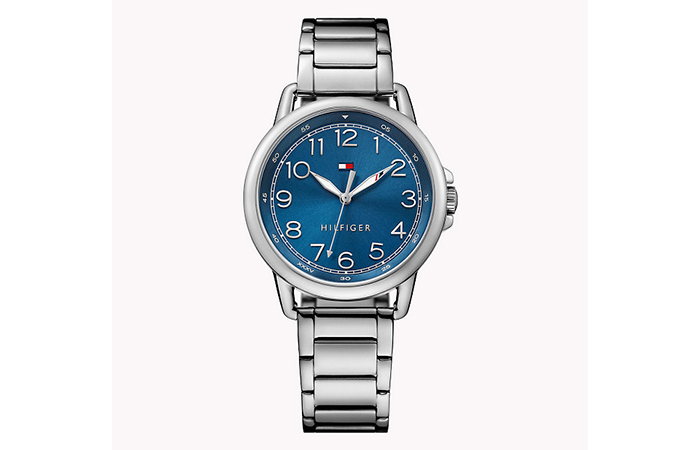 Tommy Hilfiger Watches For Women - 7. Dark Blue And Stainless Steel Watch