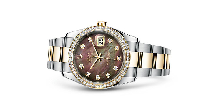Best Rolex Watches For Women: Datejust 36 - Rolesor, Yellow Gold, And Mother-of-Pearl Dial