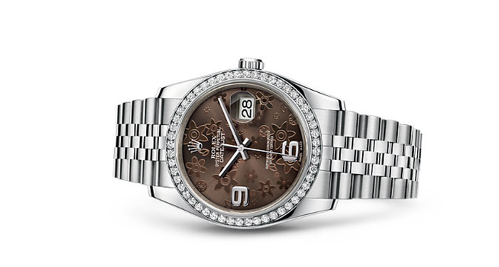Best Rolex Watches For Women: Datejust 36 - White Rolesor Strap And Bronze Dial