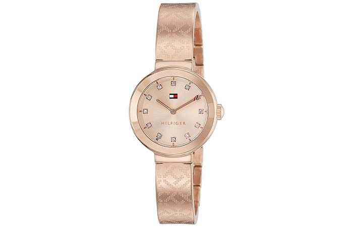 Analog Rose Gold Watch