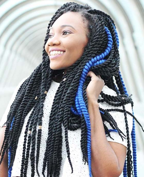 Beaded-Marley-Twists-With-Electric-Blue-Accents