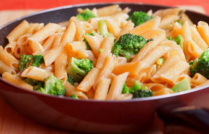 Broccoli-And-Bell-Pepper-Pasta