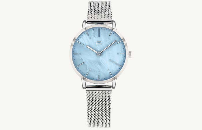 Dress Watch With Aqua Dial