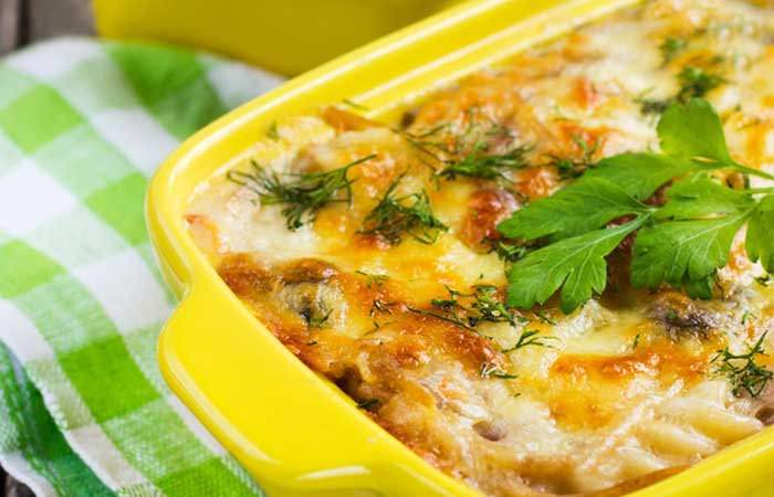 Eggs,-Mushroom,-And-Baby-Corn-Casserole