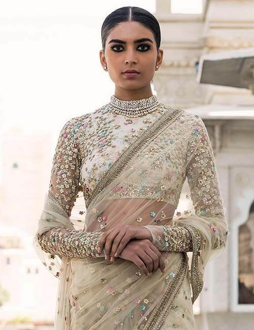 9b0233e4fc 50 Latest Saree Blouse Designs For 2019 That Will Amaze You