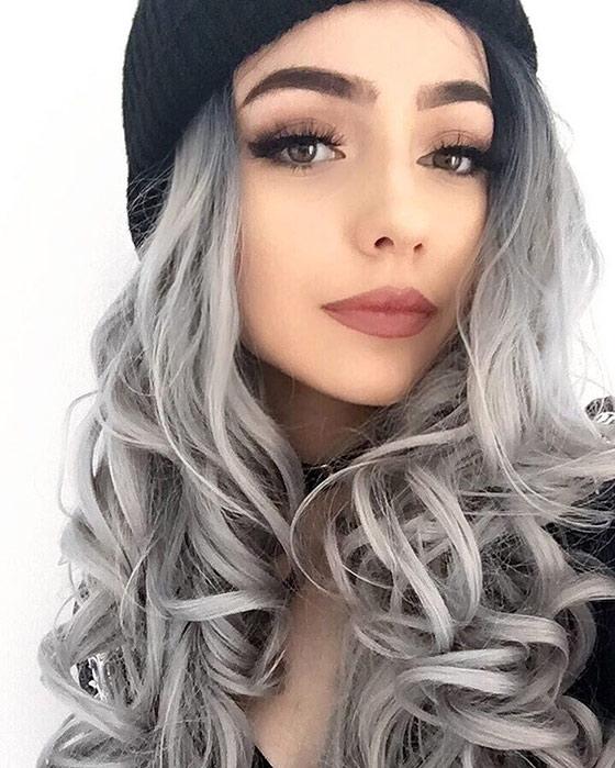 Gray-Ombre