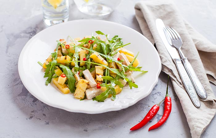 Hawaiian-Grilled-Chicken-Salad