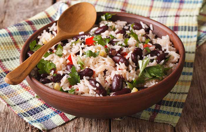 Kidney-Beans-And-Flavored-Brown-Rice