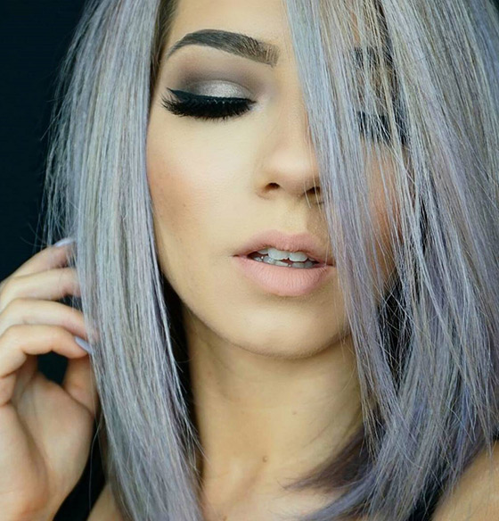 Silver-And-Periwinkle