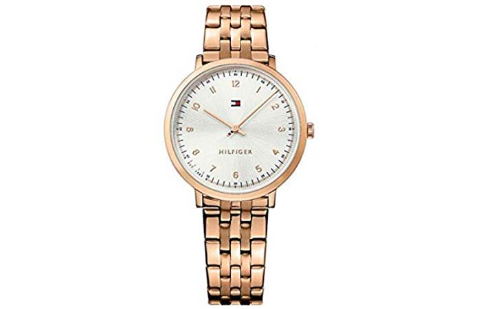 Silver Dial Womens Watch